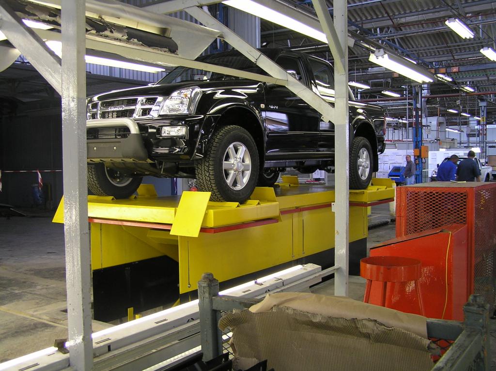 Vehicle Inspection Scissor Lift Dockleveller