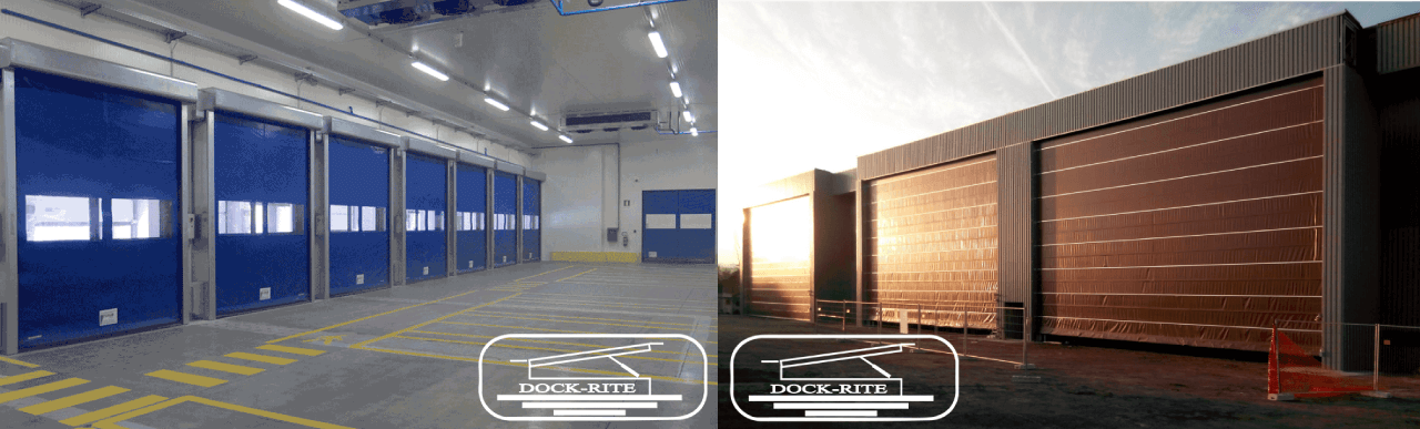 High speed doors dock rite